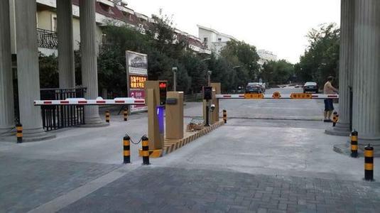 停车场系统组成部件 道闸