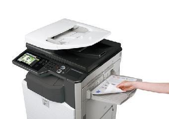 复印机出现故障后的检查