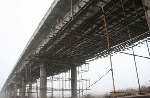 成都桥梁加固之加大截面加固施工法