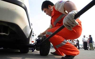 直接联系救援减少车辆损坏