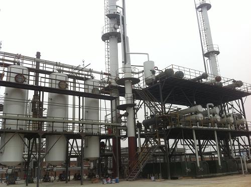 惠州溶剂精制设备
