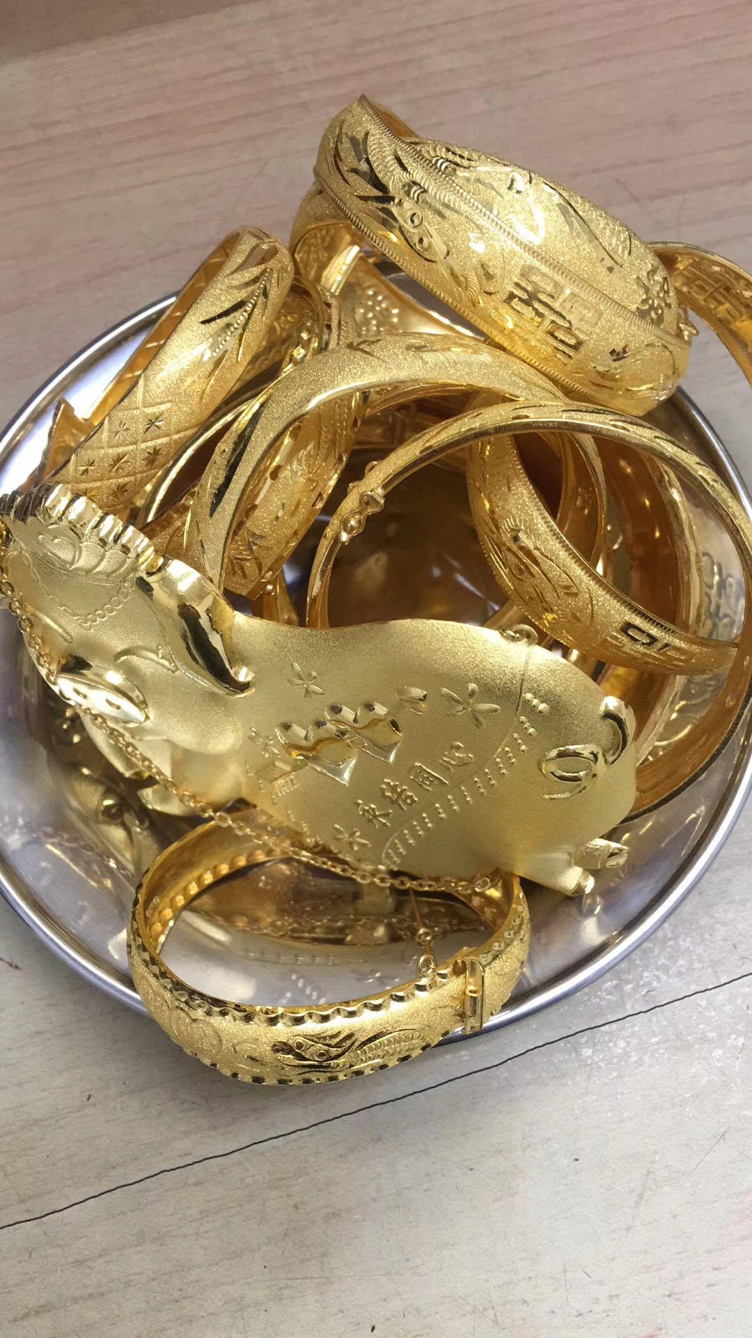 黄金首饰的一般加工工艺