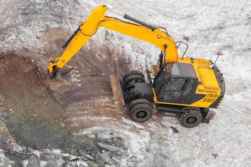 聊城挖掘机租赁