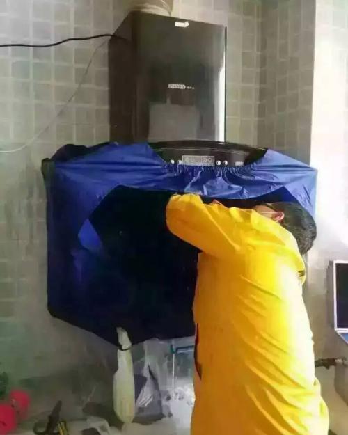 郑州家庭油烟机清洗效果显著