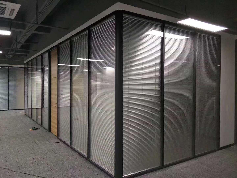 办公室用夹层、夹丝玻璃隔断的好处