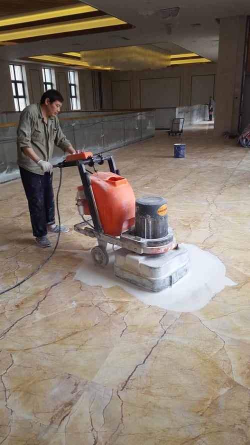 石材地板日常的养护