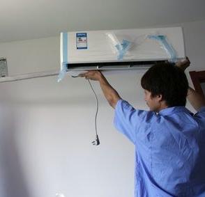 青岛城阳区空调维修-移机-安装-拆装-加氟-清洗
