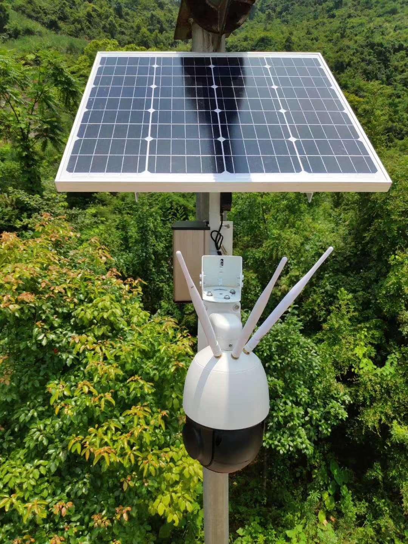 桂林果园的太阳能监控安装