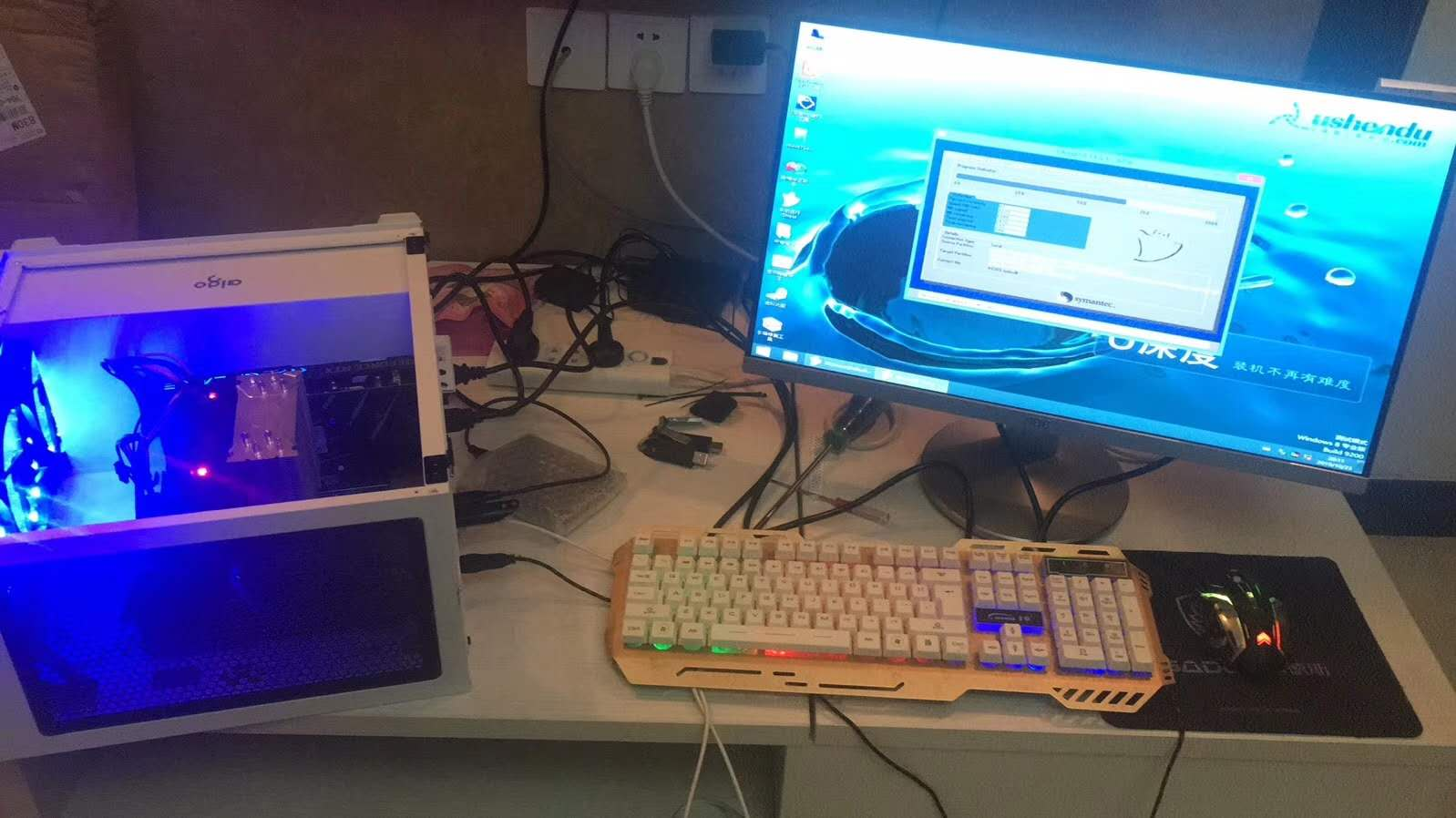专业维修电脑及各种显示器