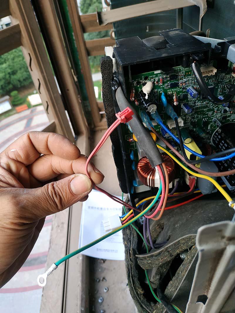 格力空调继电器电路故障怎么判断
