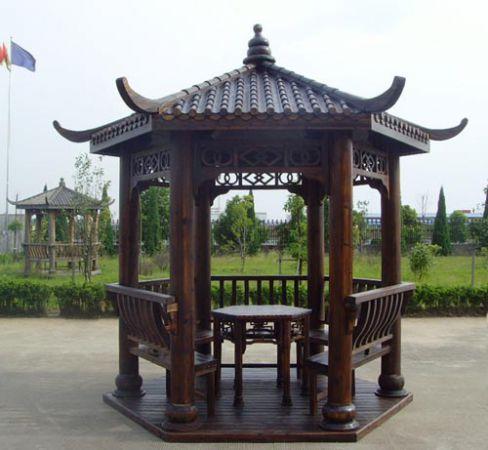 抚州古建凉亭设计