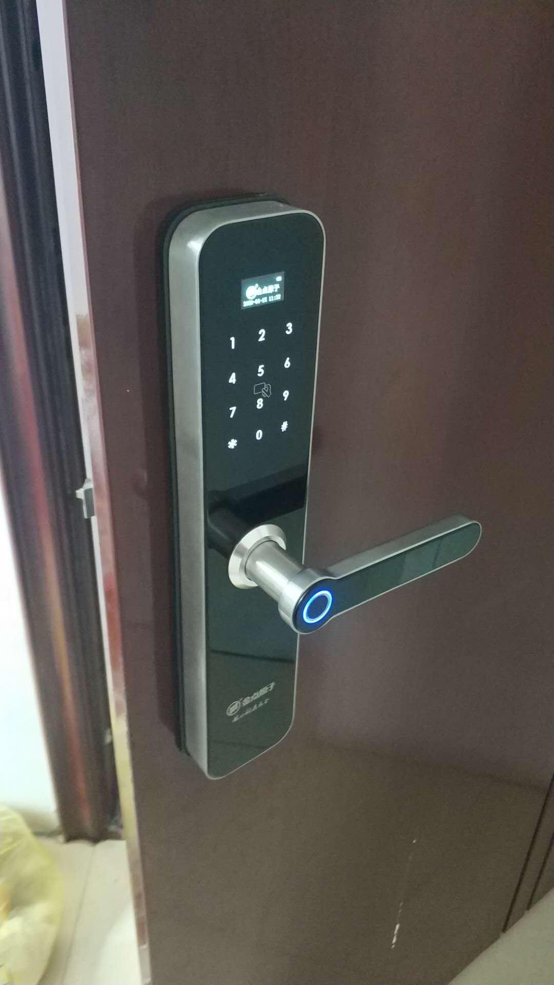 天门密码指纹锁