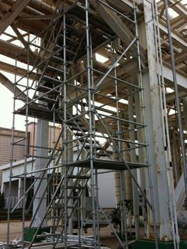 租赁钢管架安全办理与运用