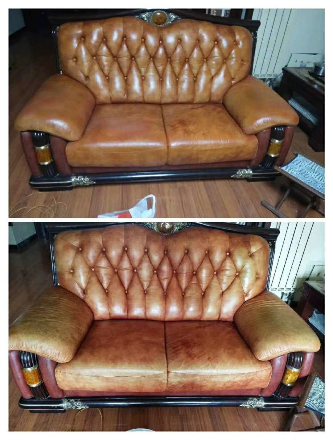 真皮沙发翻新之后怎么做