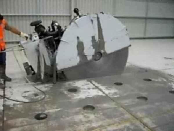混凝土楼板切割方法