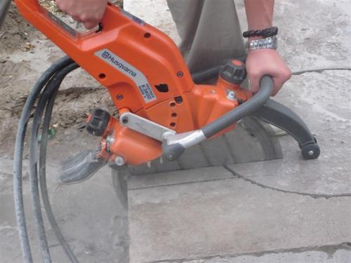 混凝土切割工艺特点