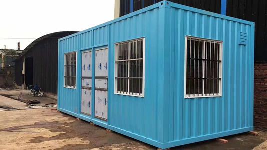 集装箱房结构介绍