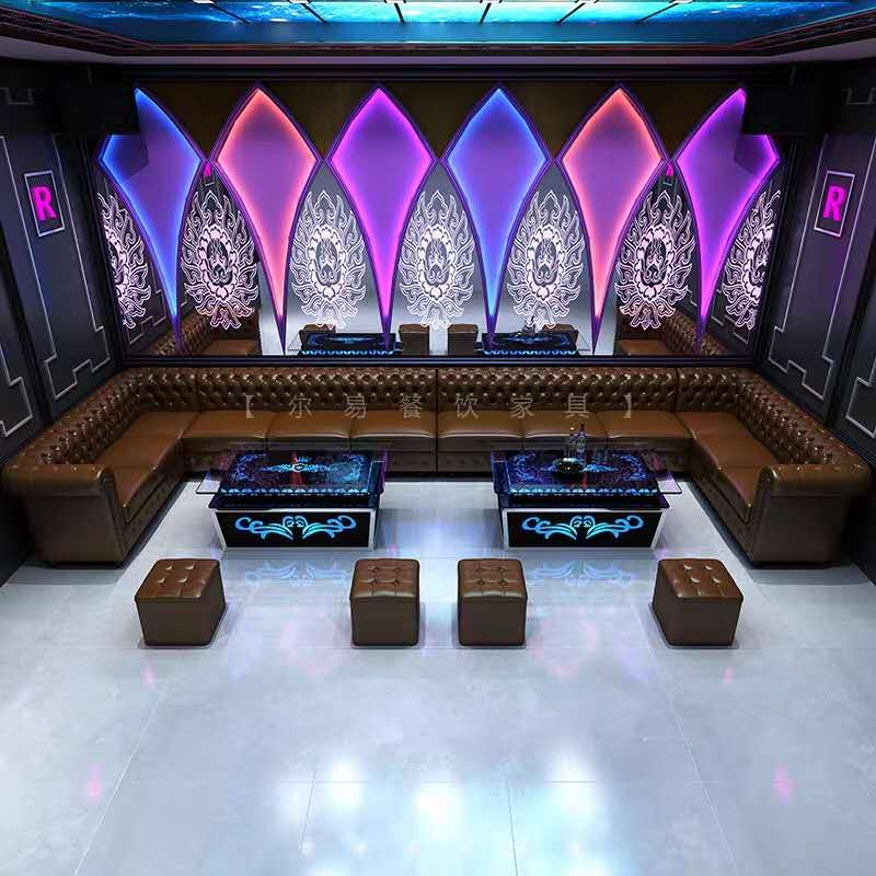 三水区KTV酒店沙发翻新