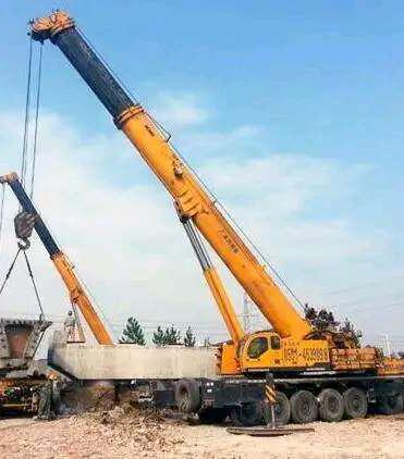 大型设备使用吊车搬迁需要注意什么问题