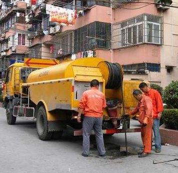 西安市政雨水及污水管道清淤疏通