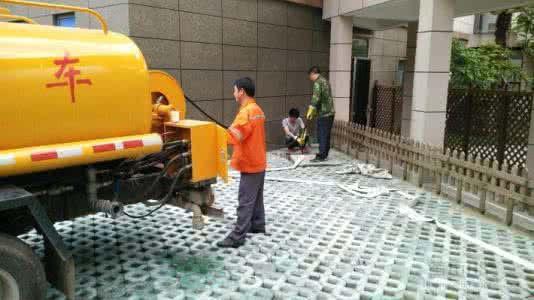 高压清洗下水道疏通管道