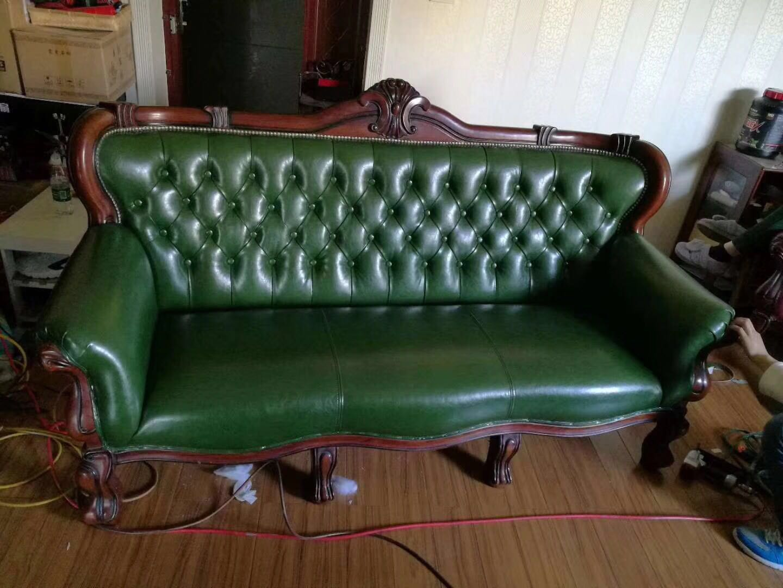 昆明专业真皮沙发翻新布艺沙发翻新欧式沙发翻新维修