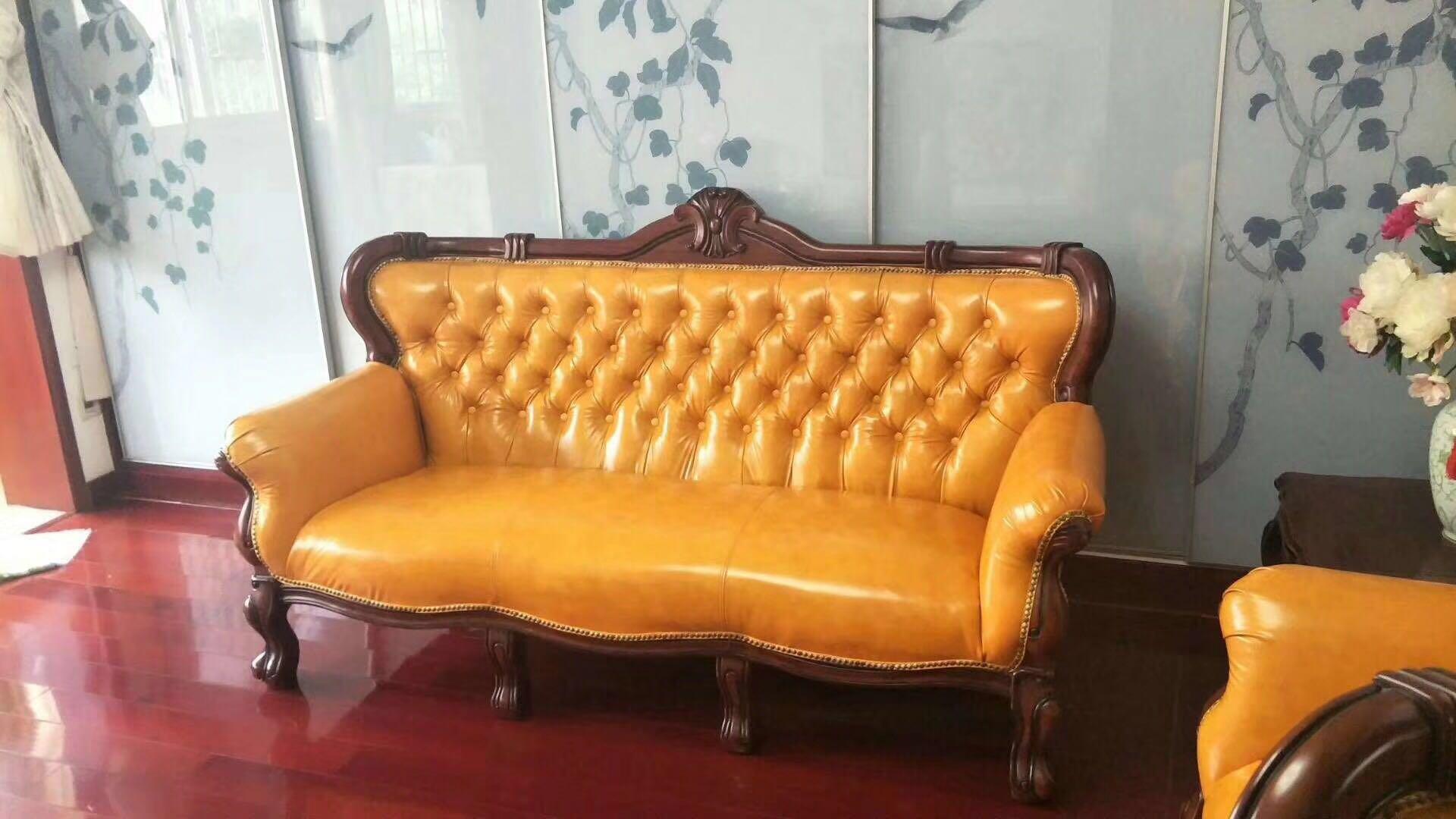 昆明旧沙发换皮翻新真皮沙发换皮