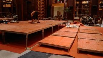 舞台搭建过程