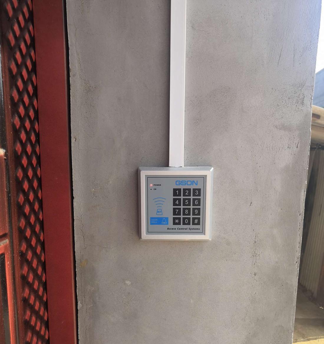 门禁安装各个配件的位置如何选取