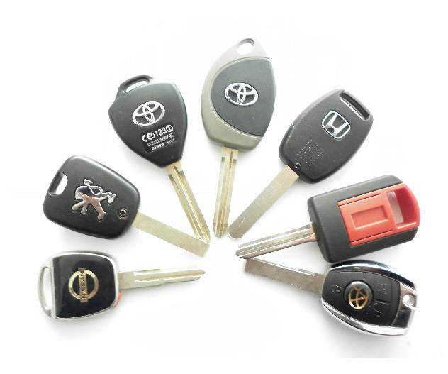 配车钥匙的方法有两种