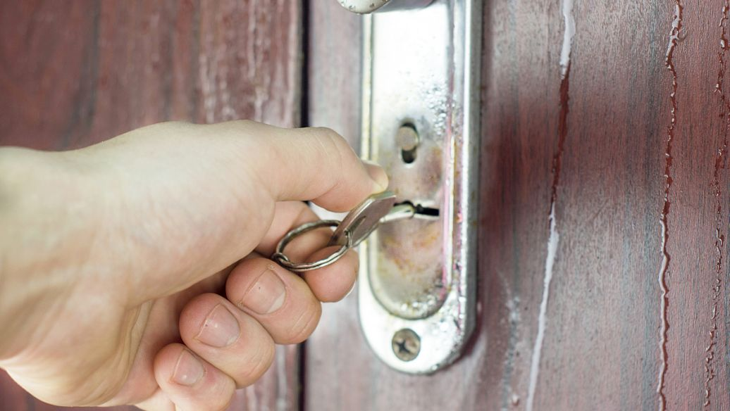 普通室内门锁介绍