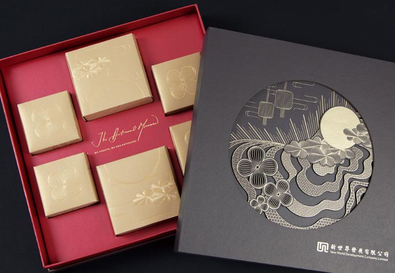 广州月饼盒设计厂家 创意一流