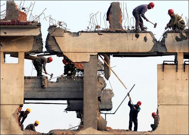 房屋拆除施工顺序及步骤