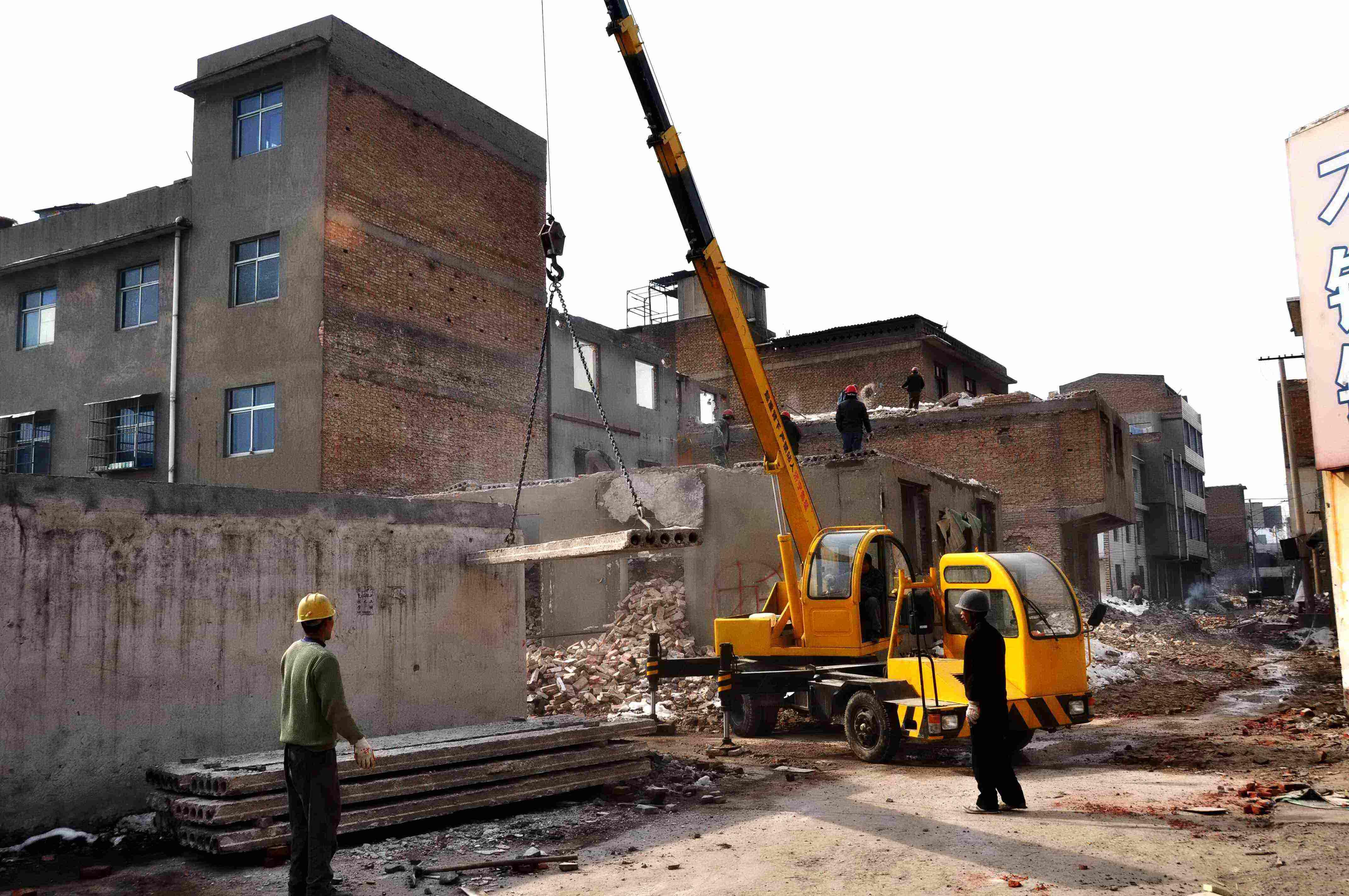 楼板切割拆除施工