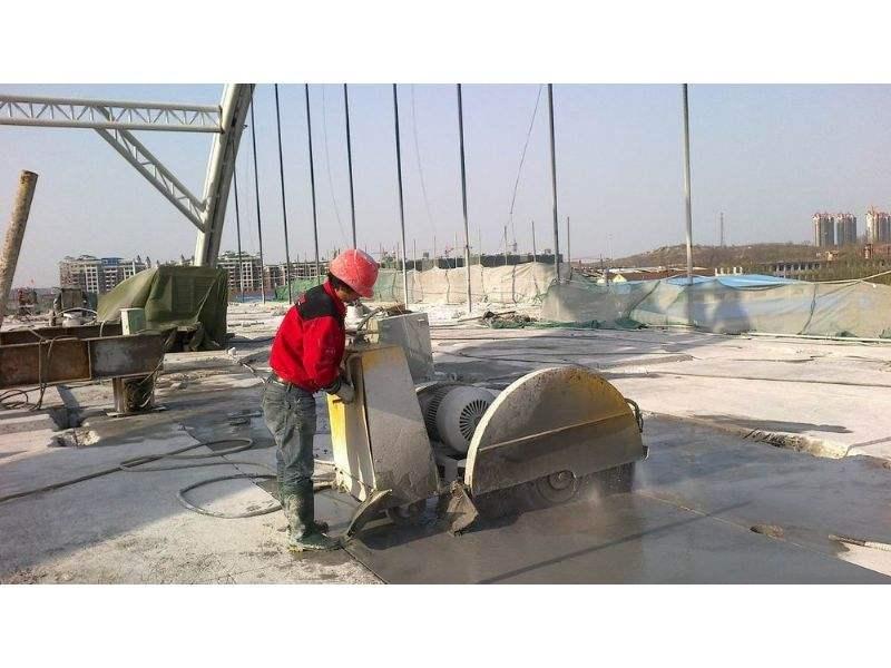 混凝土切割防止水污染
