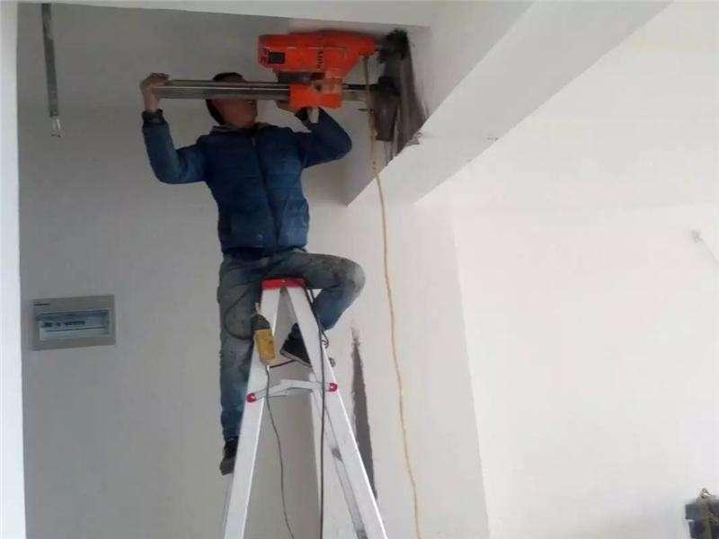 安装空调如何打孔?