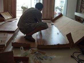 正确进行家具拆装