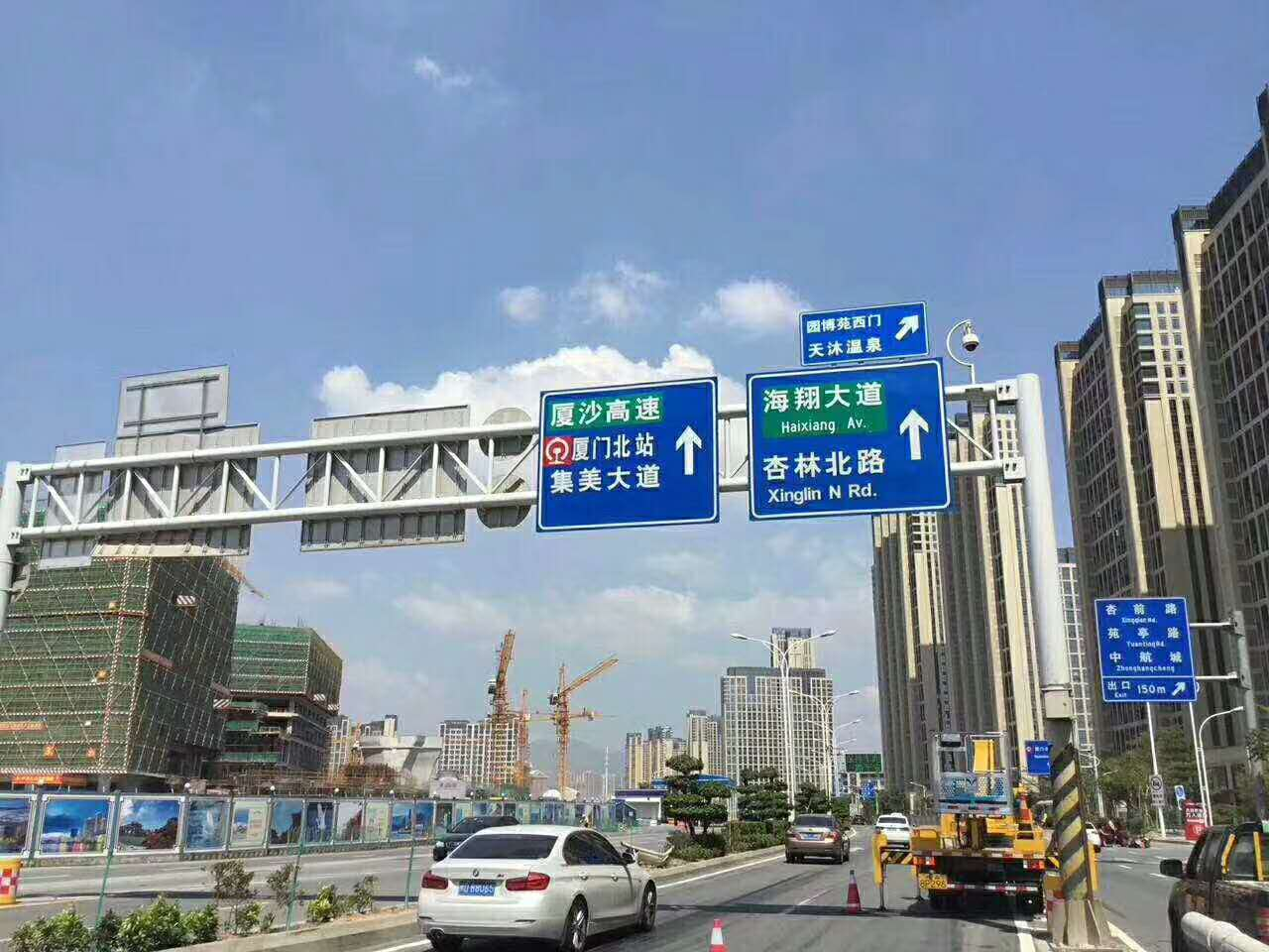 漳州标线 道路交通标线、停车位标线及指示箭头标牌