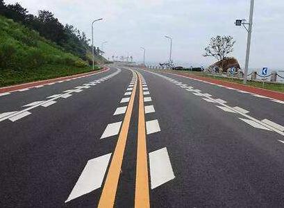 漳州道路标线交通安全设施工程划线