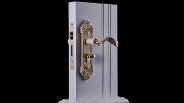 防盗门换锁芯标准操作