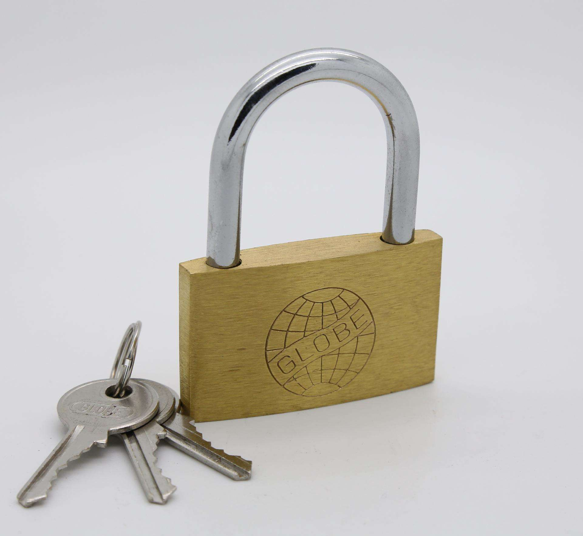 无簧叶片挂锁开锁