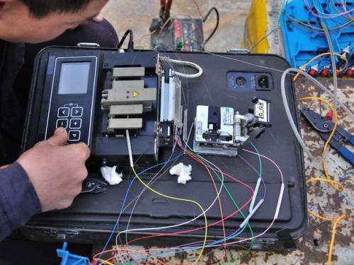 光缆熔接的操作程序