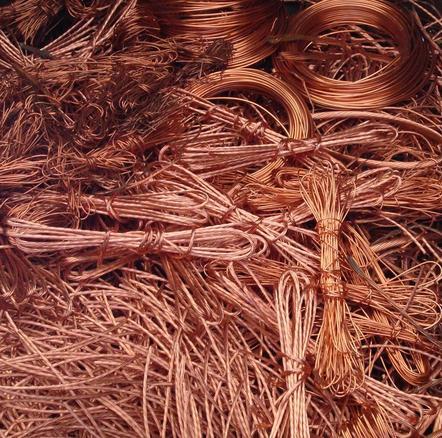 废铜回收的用途