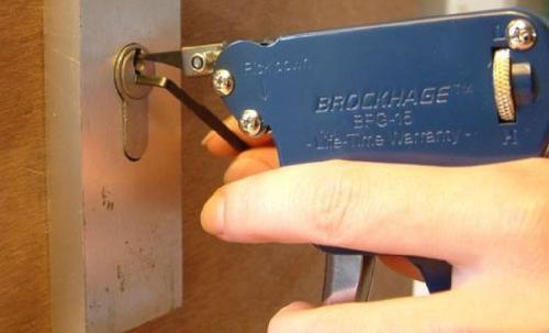 A、B两种钥匙的区别与锁的工作原理