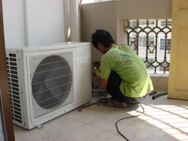 空调外机结霜维修处理