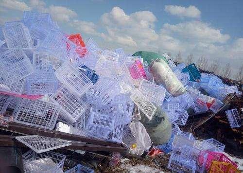回收废旧塑料制品