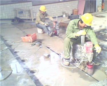 混凝土切割施工专业安全