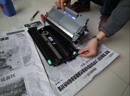 打印机加粉步骤
