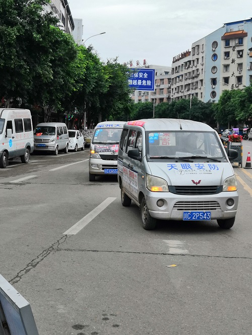 自贡小区停车道闸