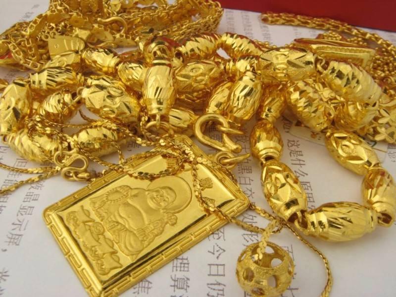 彩金饰品养护